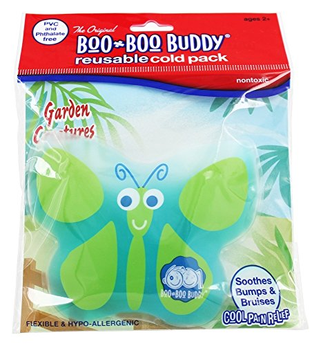 Boo Boo Buddy - Reusable Cold Pack Garden Creatures Design Butterfly ()