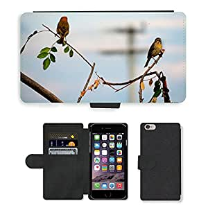 "GoGoMobile PU LEATHER case coque housse smartphone Flip bag Cover protection // M00119492 Pájaros Vida Naturaleza Animal World // Apple iPhone 6 PLUS 5.5"""