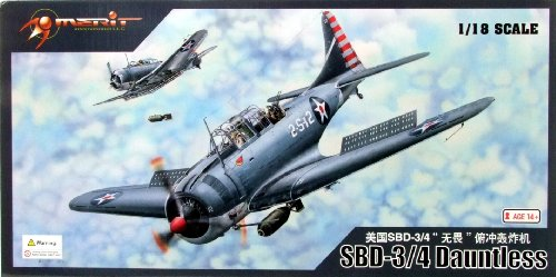 1/18 U.S.NAVY SBD-3 Dauntless