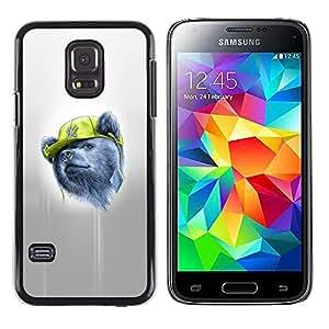 LECELL--Funda protectora / Cubierta / Piel For Samsung Galaxy S5 Mini, SM-G800 -- Gangsta Oso --