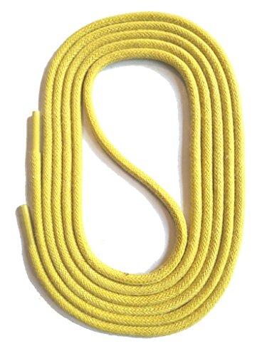 Mm Colorate Giallo Scarpe 2 Per Stringhe 3 Lacci Colorati Naturale Rotondo Snors qfFanx