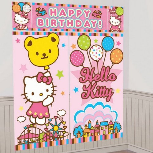 5-Piece Hello Kitty Balloon Dreams Scene