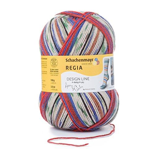 Regia 4-ply, Arne and Carlos Design Line - 3nd Edition, Vinje Color 2464 100 g ... (Regia Design Line)