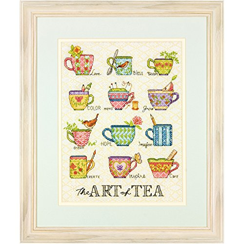 Dimensions Needlecrafts The Art of Tea, Counted Cross Stitch Kit by Dimensions Needlecrafts