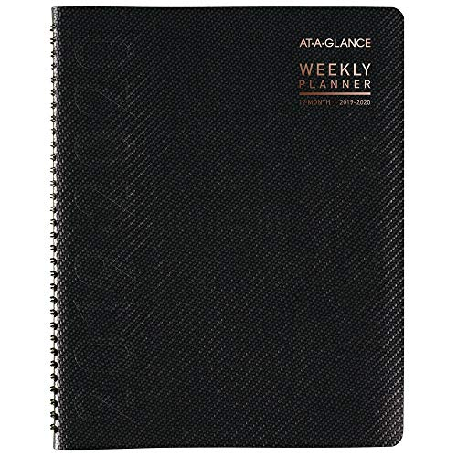 AT-A-GLANCE 2019-2020 Academic Year Weekly & Monthly Planner/Appointment Book, Large, 8-1/4