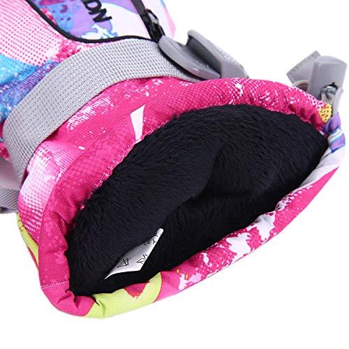 Antivento Calore Inverno Impermeabile Rosa Snowboard Sport Il Unisex Guanti Rossa Da Esterno Sci Graffiti Sci Lo Tenda Snowboard xPqAzg0qw