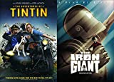 Hitting Home For the Kid in All of Us: The Adventures of Tintin & The Iron Giant (DVD Bundle/ 2 Feature Films Tin Tin & Robot Double Pack)