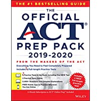 The Official ACT Prep Pack 2019-2020 with 7 Full Practice Tests: (5 in Official ACT Prep Guide + 2 Online)