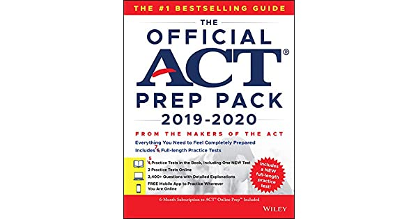 The Official ACT Prep Pack 2019-2020 with 7 Full Practice