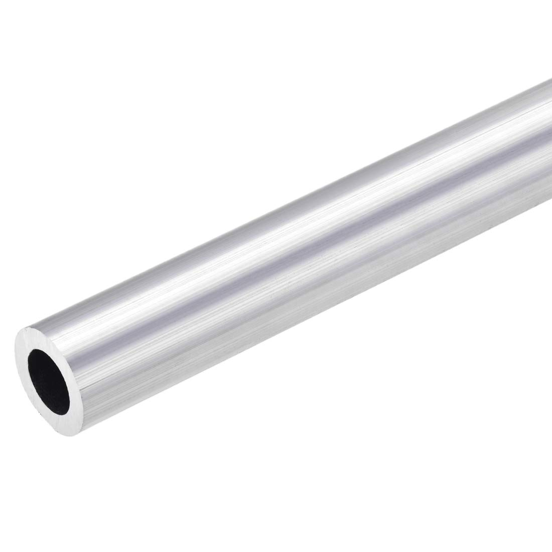 uxcell 6063 Aluminum Round Tube 23mm OD 14mm Inner Dia 300mm Length Seamless Straight Tubing