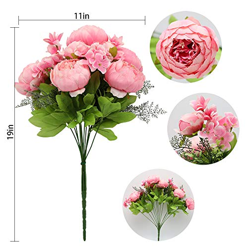 Luyue-Vintage-Artificial-Peony-Silk-Flowers-Bouquet-Home-Wedding-Decoration-Spring-Rose-Pink