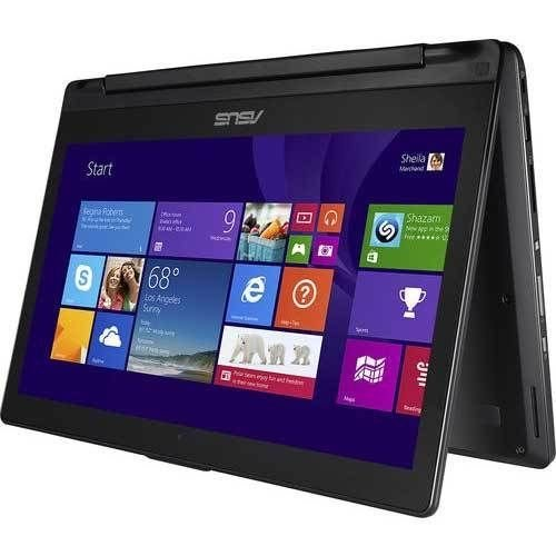 Asus 13.3 Inch Flip Convertible 2 in 1 Laptop with HD Touchscreen Display, Core i3-4030U Processor,6GB DDR3,500GB HDD,Windows 8