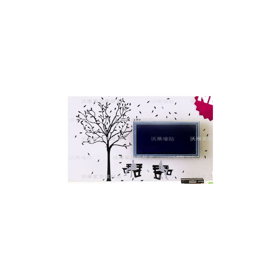 Reusable/removable Decoration Wall Sticker Decal   Couple & Tree