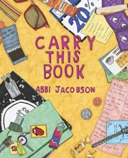 carry this book - Abbi Jacobson Coloring Book