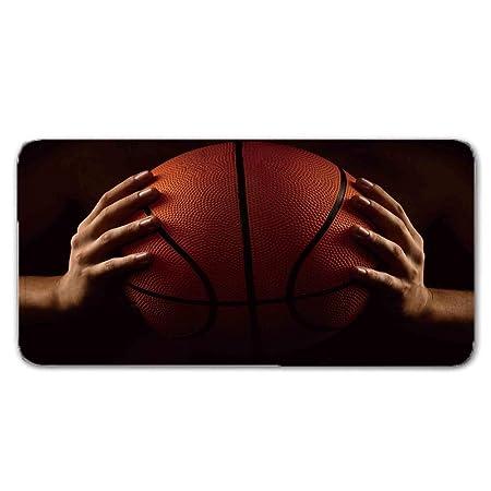 DTKY Alfombra 3D Print de Franela Suave Manos de Baloncesto ...