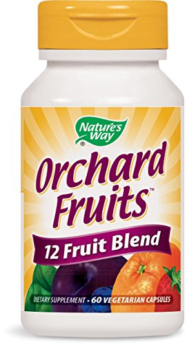 (Nature's Way Orchard Fruits™ 12 Fruit Blend, 60 Vcaps, 60 Count)