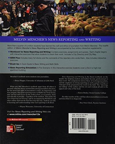 Melvin Mencher's News Reporting and Writing - http://medicalbooks.filipinodoctors.org