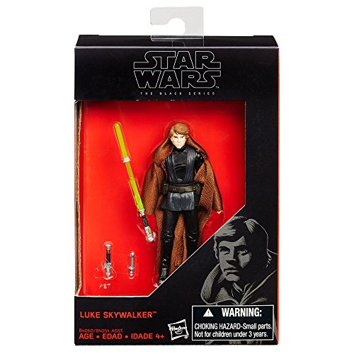 (Star Wars 2015 The Black Series Luke Skywalker (Return of the Jedi) Exclusive Action Figure 3.75 Inches)