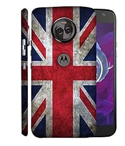 ColorKing Football England 12 Multicolor shell case cover for Motorola Moto X4