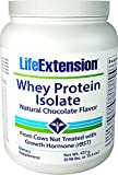 Life Extension Enhanced Life Whey Protein Isolate, Supplement Chocolate, 1 Pound For Sale