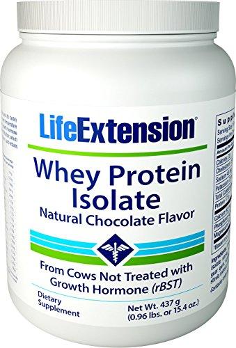 Life Extension Enhanced Life Whey Protein Isolate, Supplement Chocolate, 1 (Life Whey Protein)