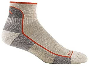 Darn Tough Vermont Men's Merino Wool 1/4 Cushion Socks, Oatmeal, Medium