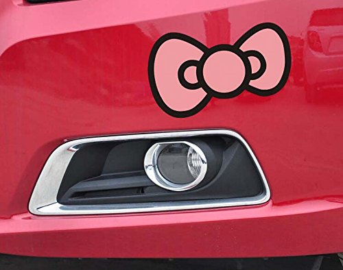 hello kitty bow car decal - 7