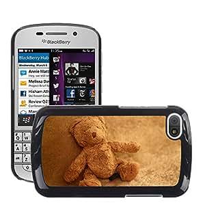Super Stella Slim PC Hard Case Cover Skin Armor Shell Protection // M00104561 Teddy Bear Stuffed Animal Teddy // BlackBerry Q10