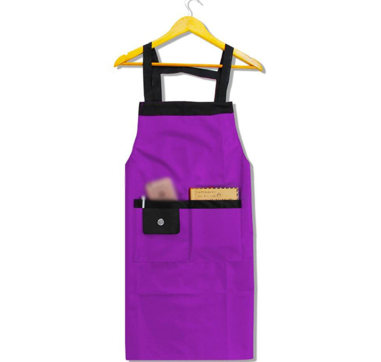 YIFANFENGSHUN Cocina Overoles Impermeables De Moda Hermosa Princesa Batas Delantales Delantales De Chef Sra,Purple: Amazon.es: Hogar