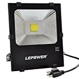50W New Craft LED Flood Lights, Super Bright Outdoor Security Lights, 250W Halogen Bulb Equivalent, IP66 Waterproof, 4000lm, 6500K, Daylight White, Outdoor Floodlight (Daylight White)
