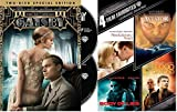 Leonardo Dicaprio 5-Movie Collection - The Great Gatsby Special Edition/ The Aviator/ Blood Diamond/ Body of Lies/ Revolutionary Road
