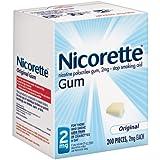 SCS Nicorette® 2mg Original Gum - 200 pieces