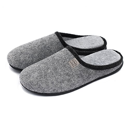 unisex-slip-on-slippers-happy-lily-antislip-sandal-memory-foam-mules-woollen-fabrics-shoes-mens-size