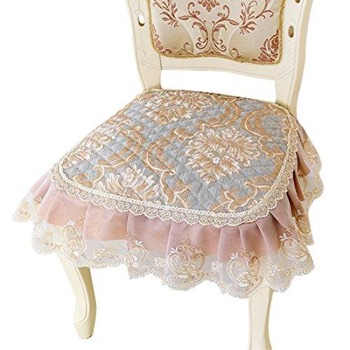 Jiyaru Floral Chair Pad Dining Room Home Garden Office Soft Seat Cushion 16''x19'' 3# by Jiyaru