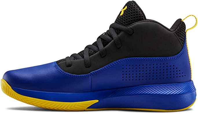 Under Armour Unisex-Kids Pre School Lockdown 4 Basketball Shoe //Black 1.5 001