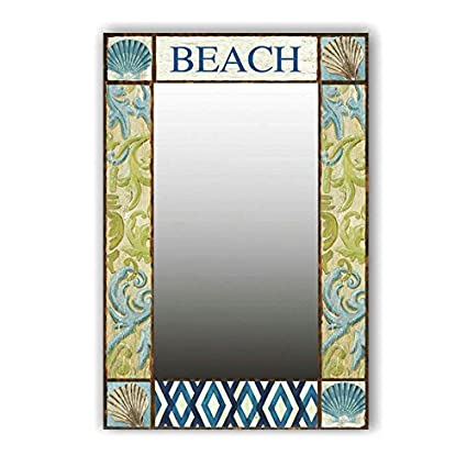 Amazon.com: Turtle King Brand New Mirror Wall Art Coastal/Beach ...