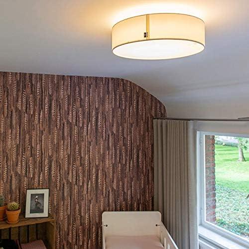 Deckenleuchte LED Schlafzimmer Stahl weiss Wohnzimmer