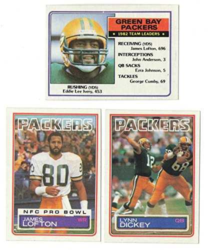 1983 Topps Football Team Set - GREEN BAY PACKERS