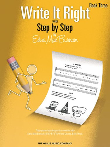 Write It Right - Book 3: Written Lessons Designed to Correlate Exactly with Edna Mae Burnam