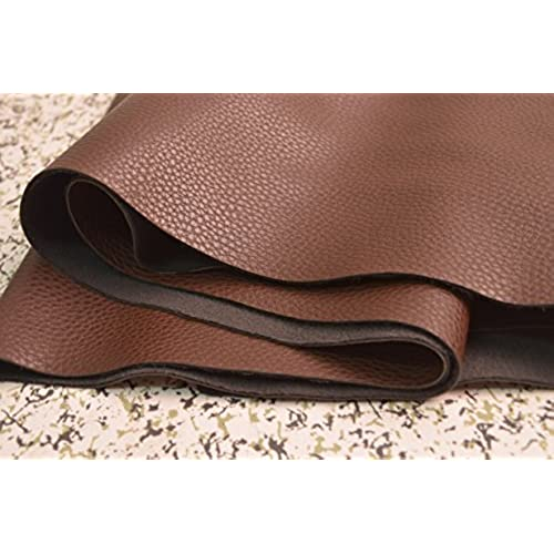 Wento 1.0mm Dark Brown Leather,wearproof Sofa Leather Fabric,furniture  Leather,car Seat Leather Fabric,1.0mm Thickness Upholster Pleather For  Furniture ...