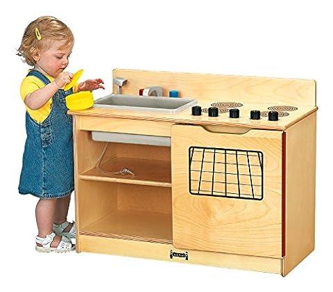 Jonti-Craft 0672JC Kinder-Kitchen 2-In-1 Stove And Sink - Jonti Craft Kinder Kitchen