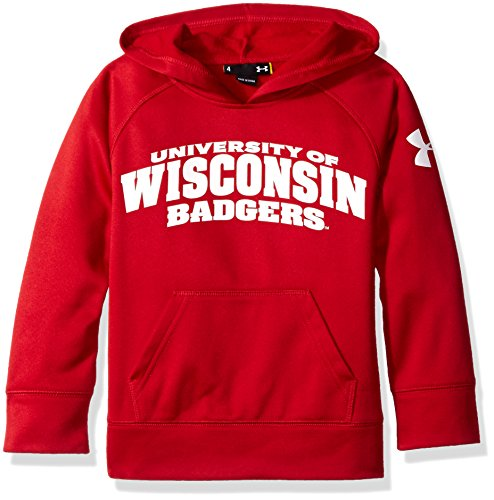 NCAA Wisconsin Badgers Boys Campus Hoodie, 24 Months, Flawless