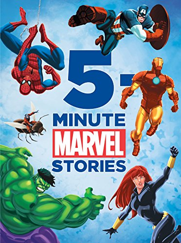 Marvel 5-Minute Stories (Marvel Storybook (eBook))