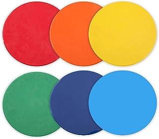 vorcool 6pièces multicolores Spot Marqueur pour foret et la formation école Teaching Progress Indicator