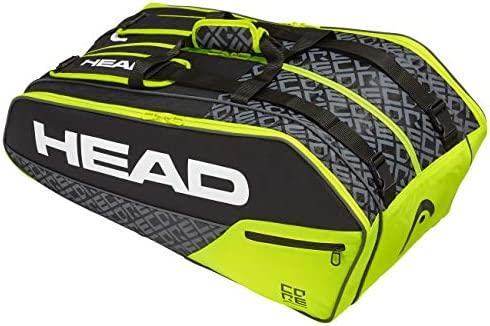 Head Core 9R Supercombi Bolsa de Tenis, Adultos Unisex, Nero ...