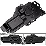 APDTY 857259 Door Lock Actuator Motor Fits Front or Rear Left Driver-Side For Various Ford, Lincoln, Mercury, Mazda Vehicles (View Chart) (Replaces 3L3Z25218A43AA)