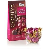 GODIVA Chocolatier Assorted Milk Chocolate Truffles, 7oz