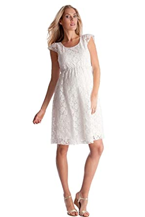 3d35ad900b5 Seraphine Sloane Lace Maternity Dress at Amazon Women s Clothing store