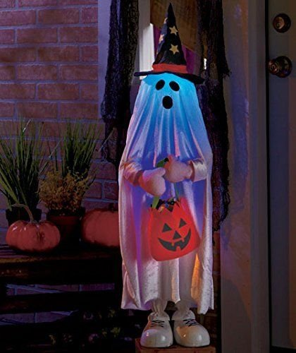 Lighted Halloween Character Decorations, Ghost]()