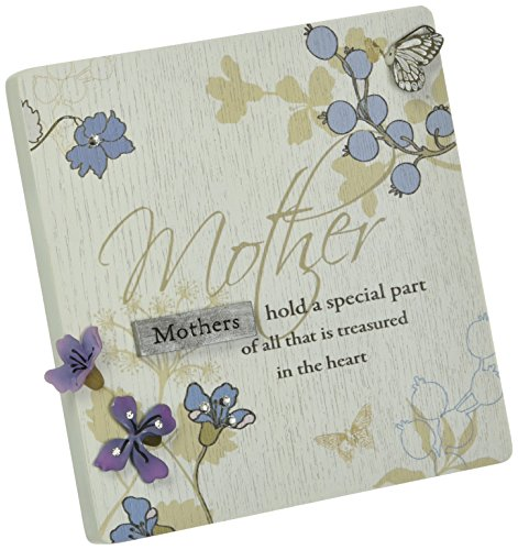 - Mark My Words Self Standing Plaque with Mother Saying, 4-3/4 by 5-Inch